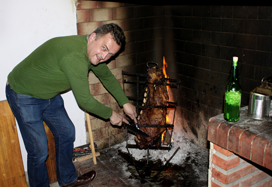 Asado in Argentina with Heinz